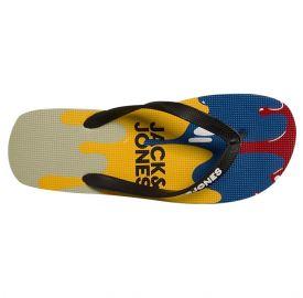 Jack & Jones Jfwprint Summer Flip Flop Pack